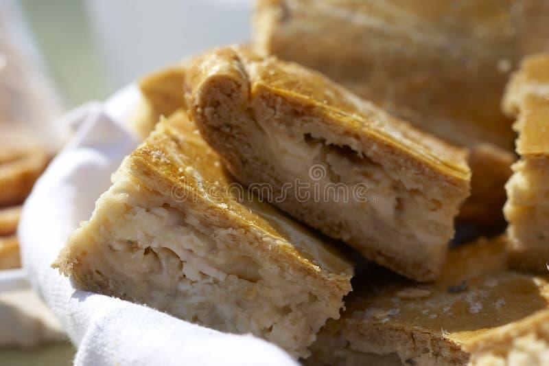 πίτα κρεμμυδιών στοκ εικόνες