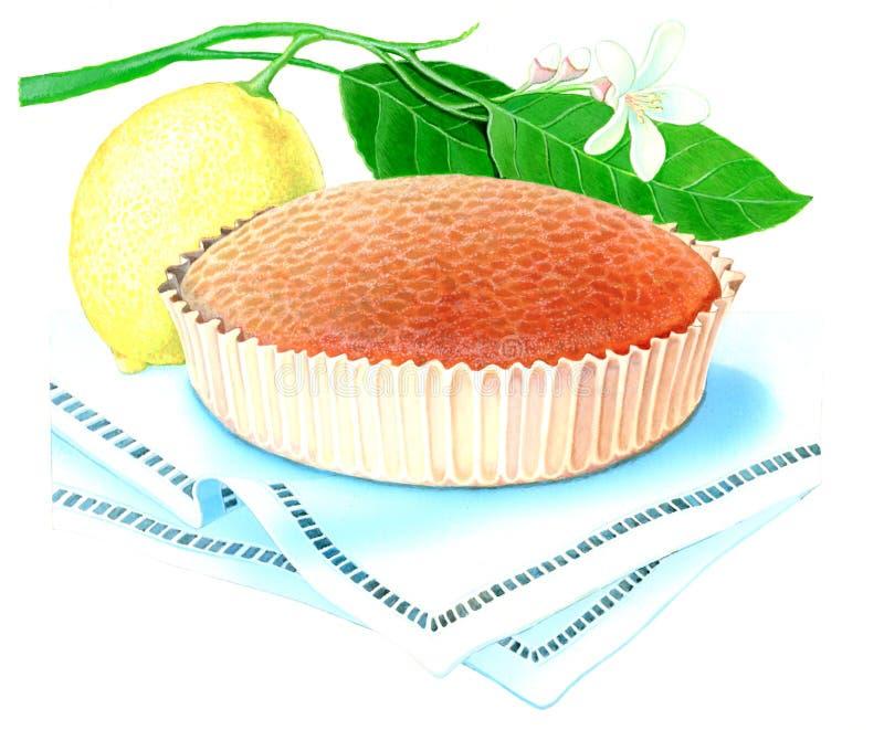 πίτα λεμονιών στοκ εικόνες