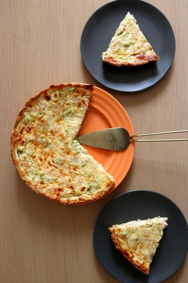 Πίτα Λωρραίνη στοκ εικόνες με δικαίωμα ελεύθερης χρήσης