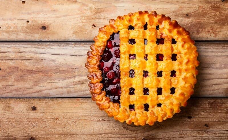 Πίτα μούρων στοκ εικόνα με δικαίωμα ελεύθερης χρήσης