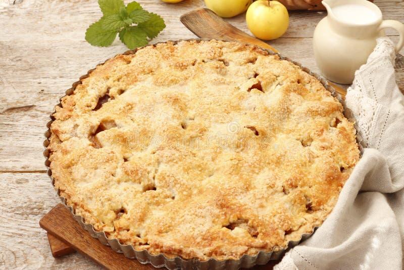 Πίτα της Apple στα ιρλανδικά στοκ φωτογραφία με δικαίωμα ελεύθερης χρήσης