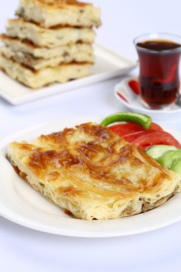 Πίτα τυριών - Borek στοκ φωτογραφίες