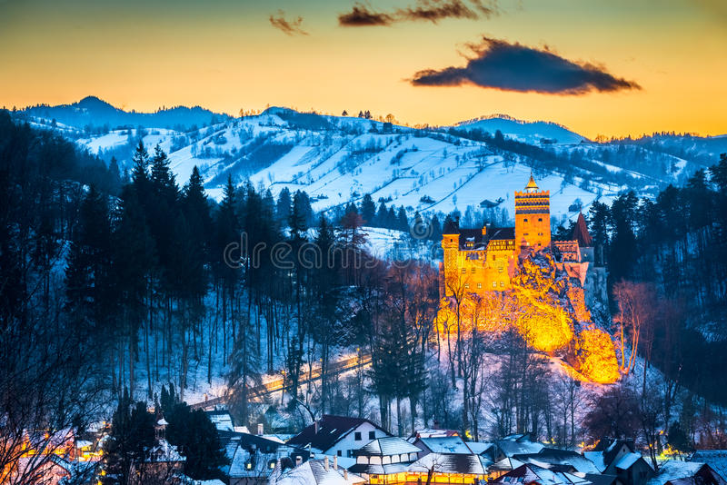 Πίτουρο Castle - Ρουμανία, Τρανσυλβανία στοκ φωτογραφία με δικαίωμα ελεύθερης χρήσης