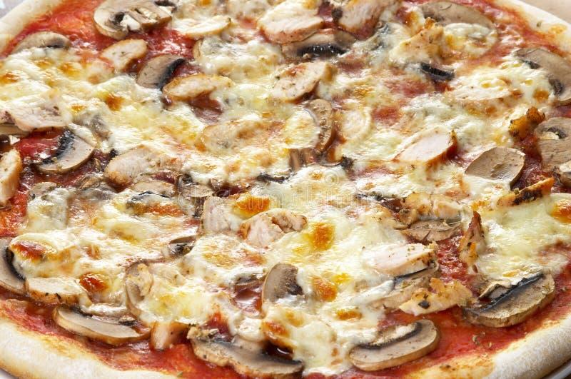 Download πίτσα ανασκόπησης στοκ εικόνα. εικόνα από τραγανός, θαμπάδων - 13176961