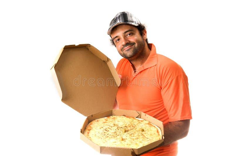 πίτσα παράδοσης στοκ φωτογραφία