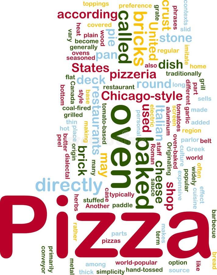 πίτσα πιάτων έννοιας ανασκόπ απεικόνιση αποθεμάτων