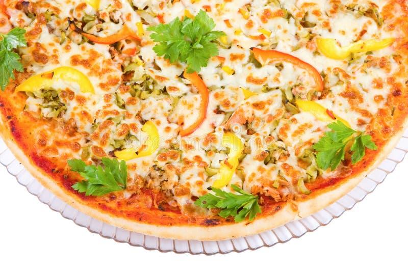 πίτσα σχαρών στοκ εικόνες