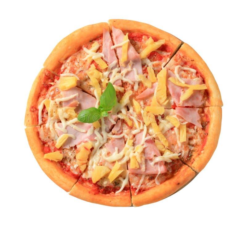 πίτσα της Χαβάης στοκ φωτογραφία