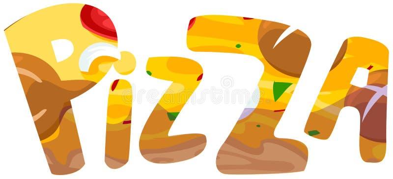 πίτσα διανυσματική απεικόνιση