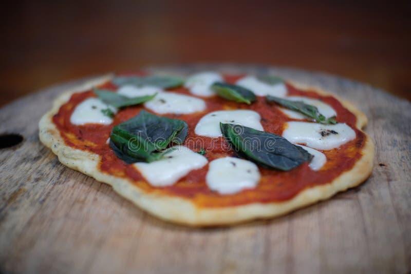 Πίτσα DIY στοκ εικόνες