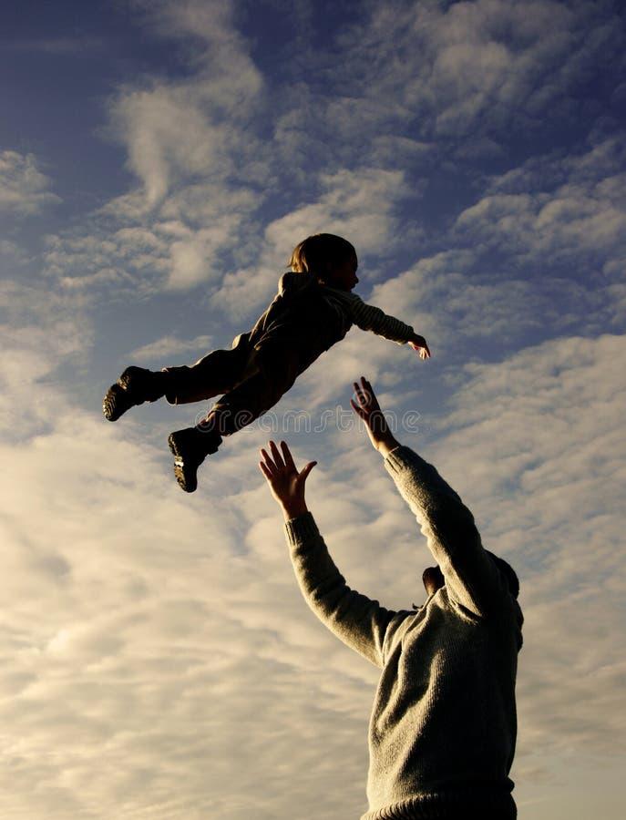 παίζοντας γιος ουρανού &p στοκ εικόνες με δικαίωμα ελεύθερης χρήσης