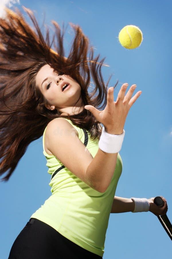 παίζοντας γυναίκα αντισφ& στοκ φωτογραφία με δικαίωμα ελεύθερης χρήσης