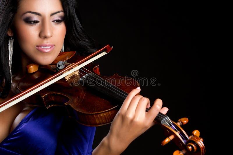 παίζοντας γυναίκα βιολι στοκ φωτογραφία με δικαίωμα ελεύθερης χρήσης