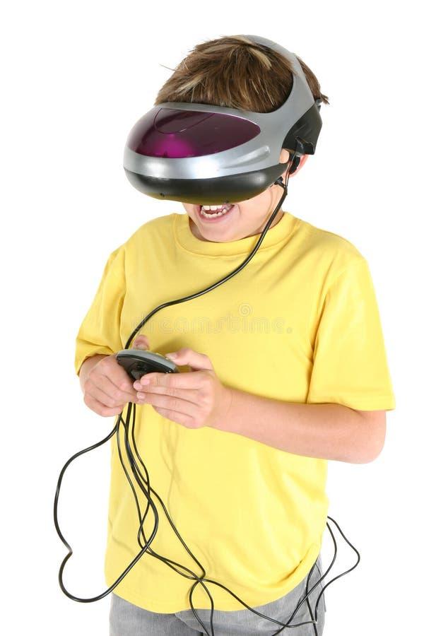 παίζοντας πραγματικότητα εικονική στοκ εικόνες με δικαίωμα ελεύθερης χρήσης