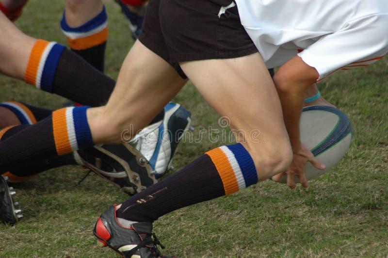 παίζοντας ράγκμπι στοκ φωτογραφίες