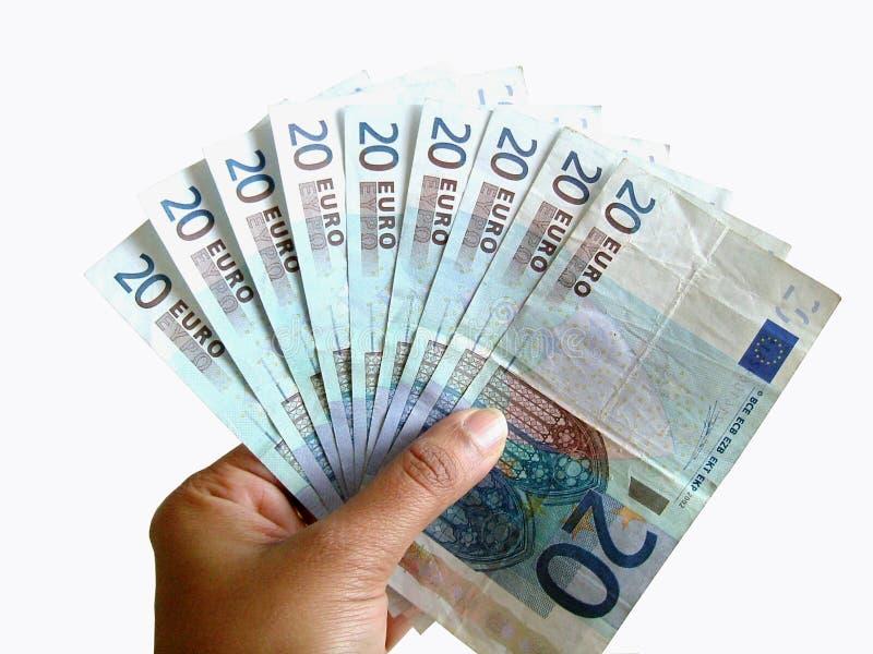 παίζοντας χρήματα Στοκ φωτογραφίες με δικαίωμα ελεύθερης χρήσης