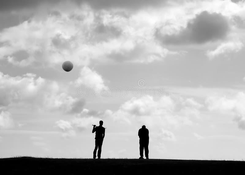 παίκτες γκολφ στοκ φωτογραφία με δικαίωμα ελεύθερης χρήσης