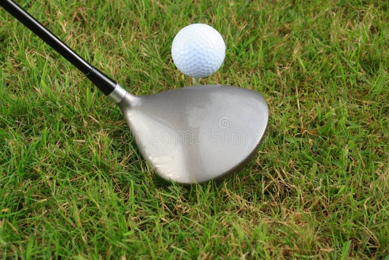 παίκτης γκολφ από την προετοιμασία του γράμματος Τ στοκ φωτογραφίες