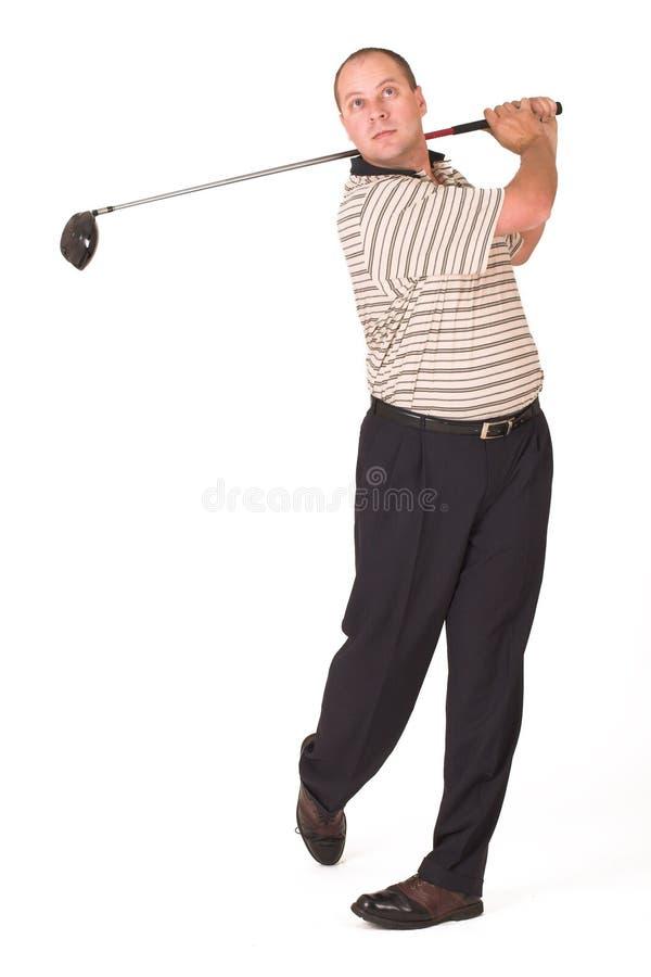 παίκτης γκολφ 6 στοκ εικόνες