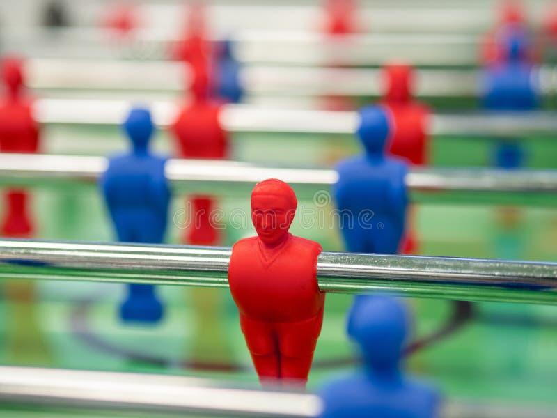 Παίκτης επιτιθέμενων ομάδων Fussball Red στοκ εικόνες με δικαίωμα ελεύθερης χρήσης