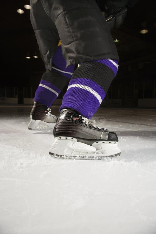παίκτης πάγου χόκεϋ στοκ φωτογραφίες με δικαίωμα ελεύθερης χρήσης