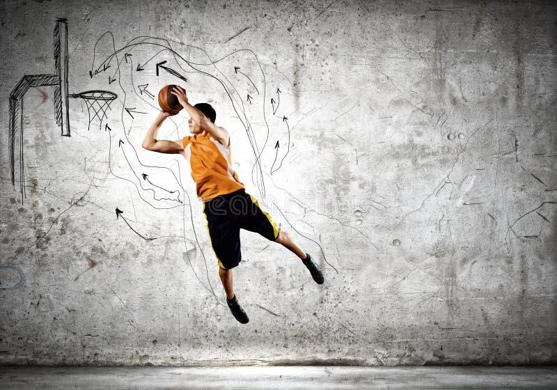 Παίχτης μπάσκετ στοκ φωτογραφίες με δικαίωμα ελεύθερης χρήσης