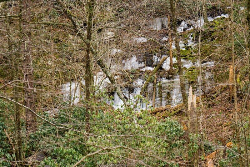Παγάκια Mountainside στοκ φωτογραφία με δικαίωμα ελεύθερης χρήσης