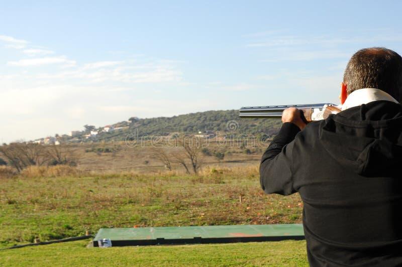 παγίδα κυνηγετικών όπλων &gamma στοκ εικόνα