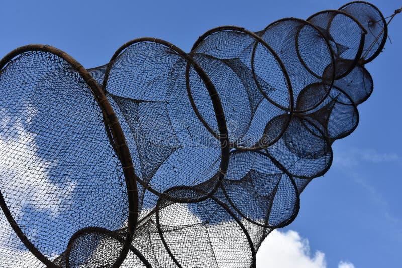 Παγίδες ψαριών στοκ φωτογραφία με δικαίωμα ελεύθερης χρήσης