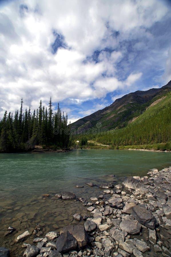 παγετώδης ποταμός λιμνών στοκ φωτογραφίες