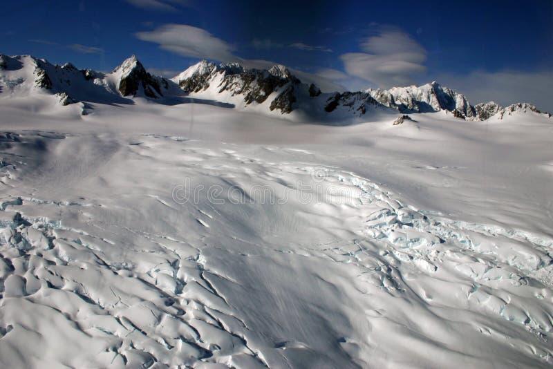 Παγετώνας αλεπούδων στις νότιες Άλπεις, νότιο νησί, Νέα Ζηλανδία στοκ φωτογραφία με δικαίωμα ελεύθερης χρήσης