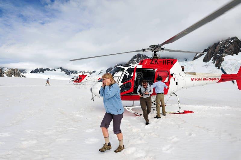 Παγετώνας αλεπούδων - Νέα Ζηλανδία στοκ εικόνα
