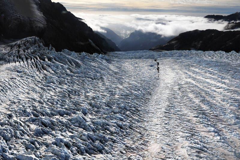 Παγετώνας Νέα Ζηλανδία αλεπούδων στοκ φωτογραφία