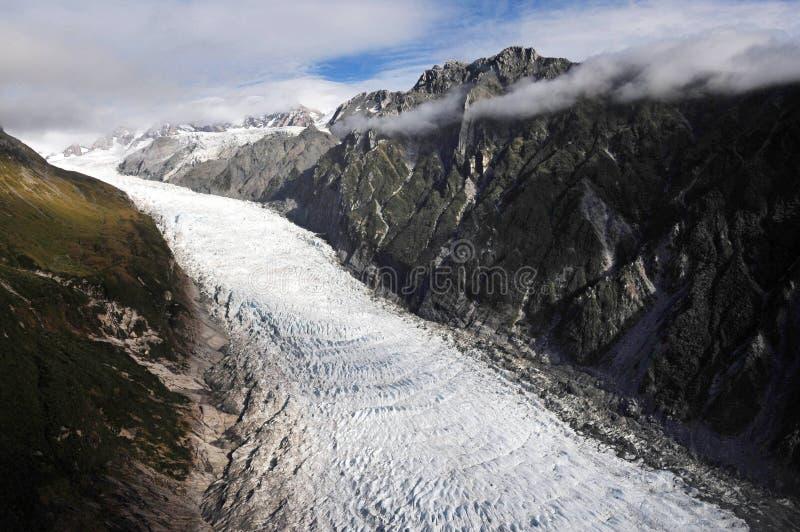 παγετώνας Νέα Ζηλανδία αλεπούδων στοκ φωτογραφία με δικαίωμα ελεύθερης χρήσης