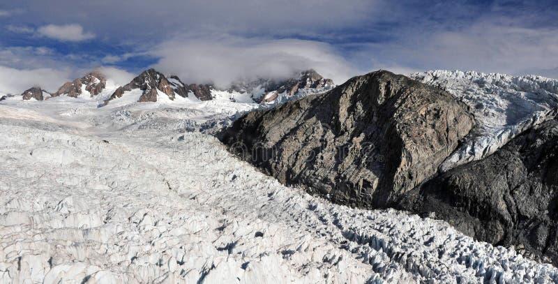 παγετώνας Νέα Ζηλανδία αλ&ep στοκ φωτογραφία με δικαίωμα ελεύθερης χρήσης