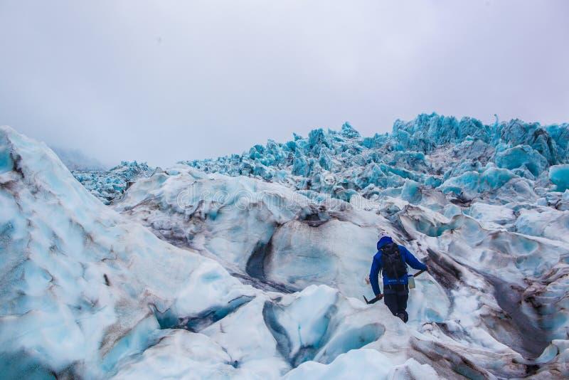 Παγετώνας σε Skaftafell, Ισλανδία στοκ εικόνα με δικαίωμα ελεύθερης χρήσης