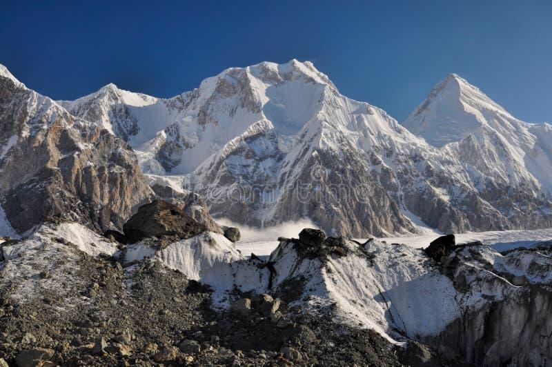 Παγετώνας στο Κιργιστάν στοκ εικόνα με δικαίωμα ελεύθερης χρήσης