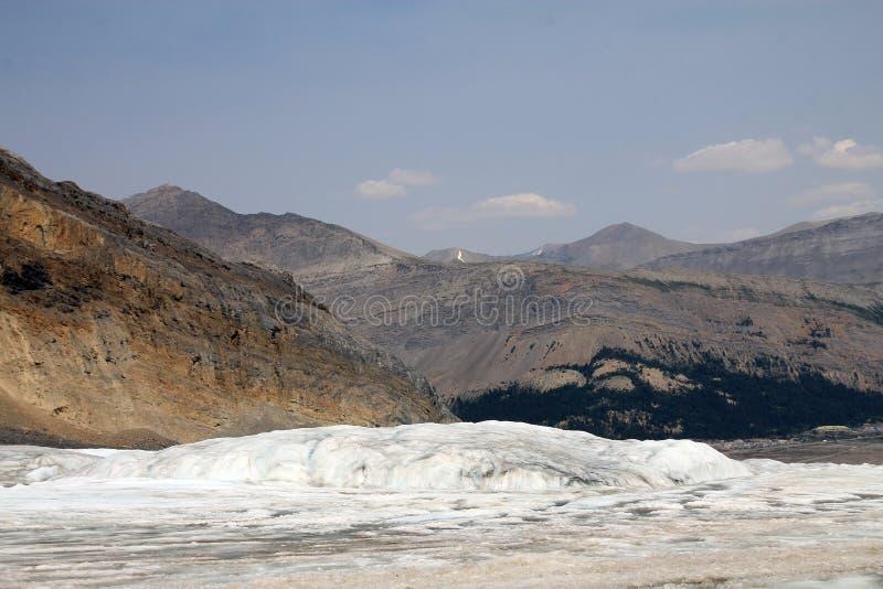 Παγετώνας της Κολούμπια στοκ εικόνες