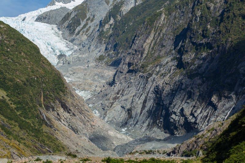 Παγετώνας του Franz Josef στοκ εικόνα με δικαίωμα ελεύθερης χρήσης