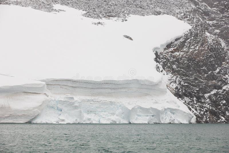Παγετώνας Galdhopiggen το εθνικό πάρκο Διαδρομή 55 Norwe στοκ φωτογραφία