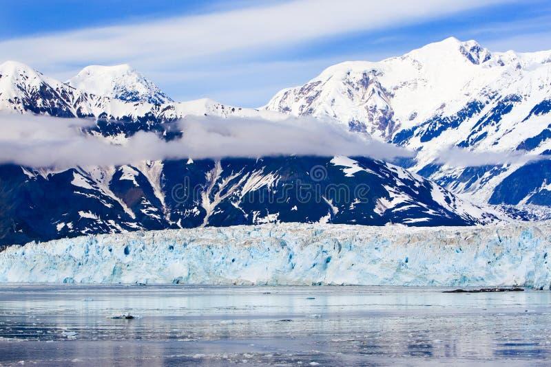 Παγετώνας Hubbard βουνών της Αλάσκας ST Elias στοκ εικόνα