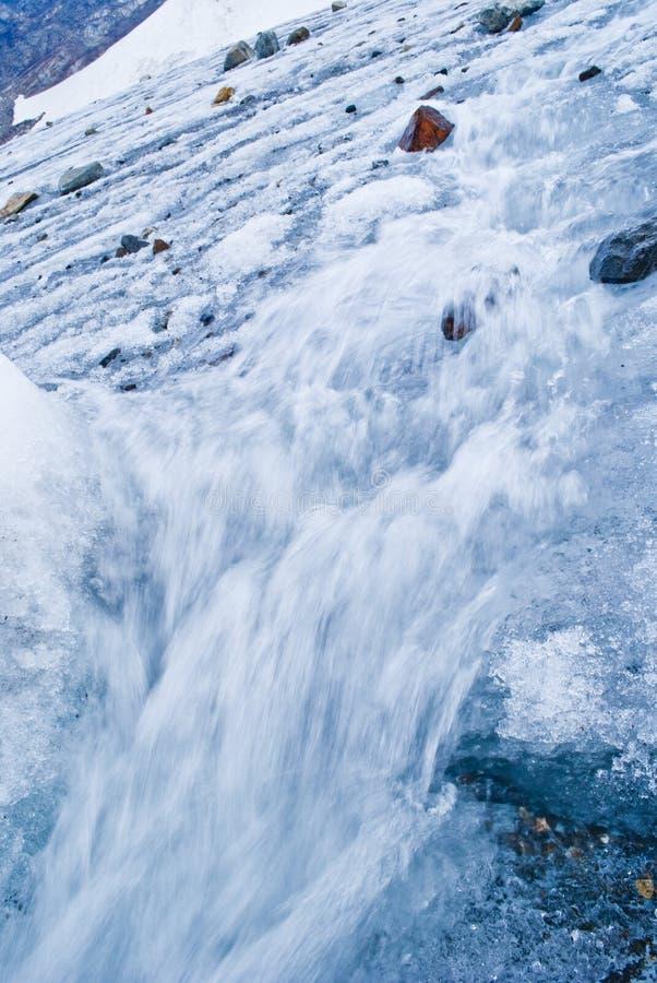 Παγετώνας Indren στοκ εικόνες με δικαίωμα ελεύθερης χρήσης