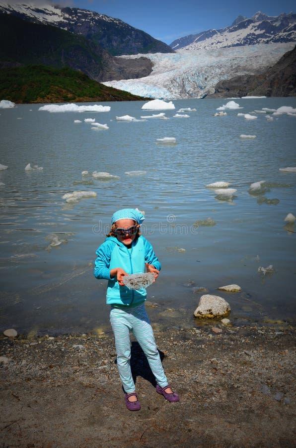 Παγετώνας Mendenhall στοκ φωτογραφίες