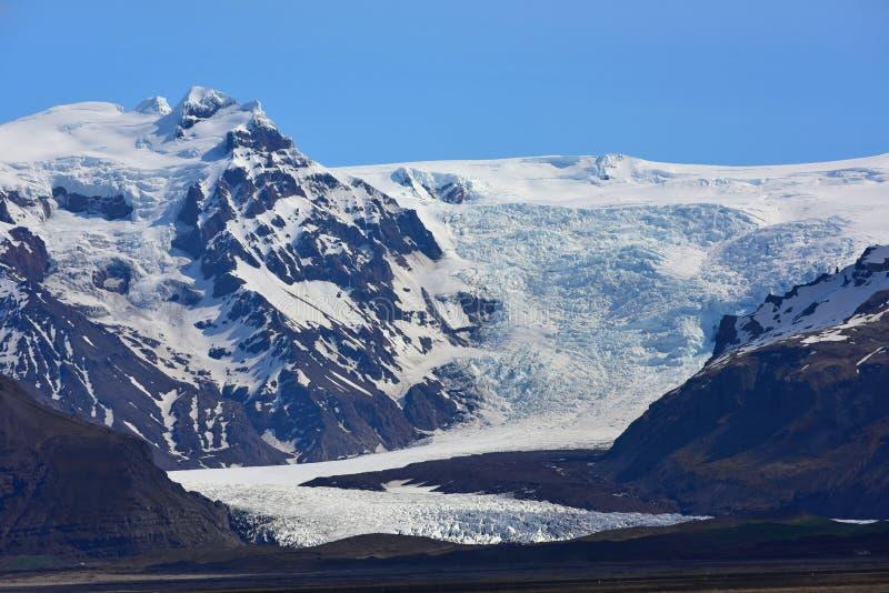 Παγετώνας Solheimajokull στην Ισλανδία στοκ εικόνες με δικαίωμα ελεύθερης χρήσης