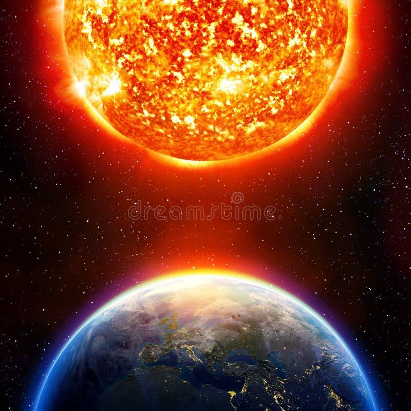 παγκόσμια αύξηση της θερμ&omic στοκ φωτογραφία με δικαίωμα ελεύθερης χρήσης