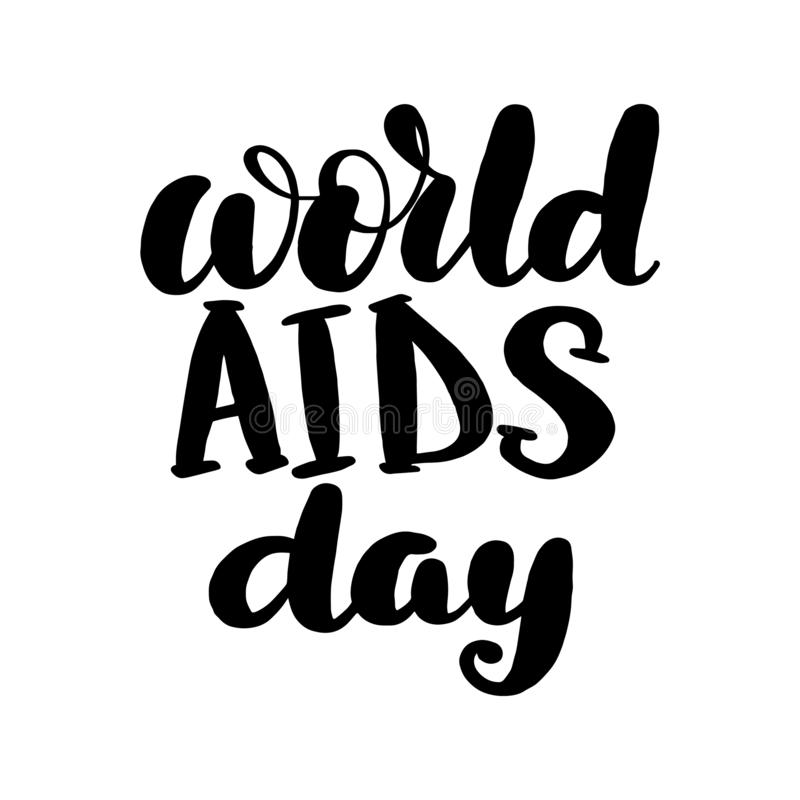 Παγκόσμια Ημέρα κατά του AIDS απεικόνιση αποθεμάτων