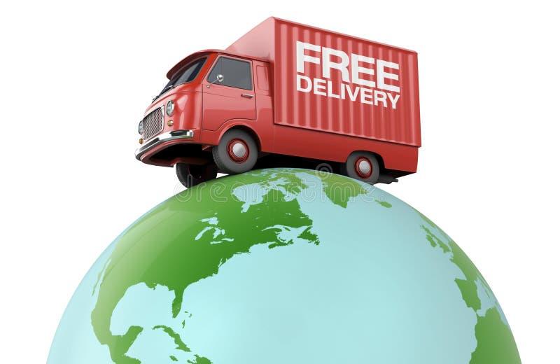Παγκόσμια μεταφορά απεικόνιση αποθεμάτων