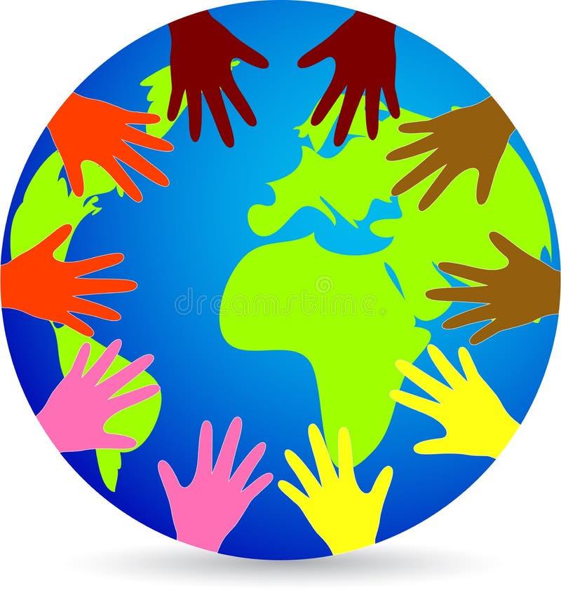 Παγκόσμια ποικιλομορφία ελεύθερη απεικόνιση δικαιώματος