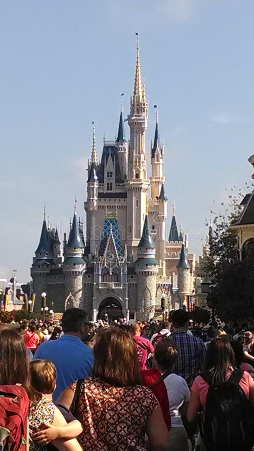 Παγκόσμια πριγκήπισσα Castle της Disney στοκ φωτογραφία με δικαίωμα ελεύθερης χρήσης