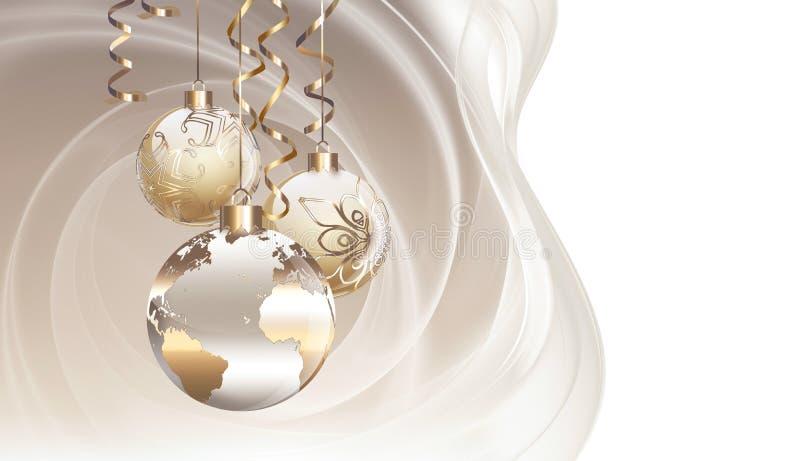 Παγκόσμια Χριστούγεννα διανυσματική απεικόνιση